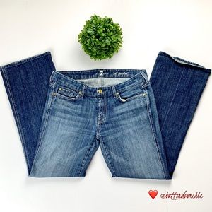 7 FOR ALL MANKIND A-Pocket Flare Jeans, Size 30